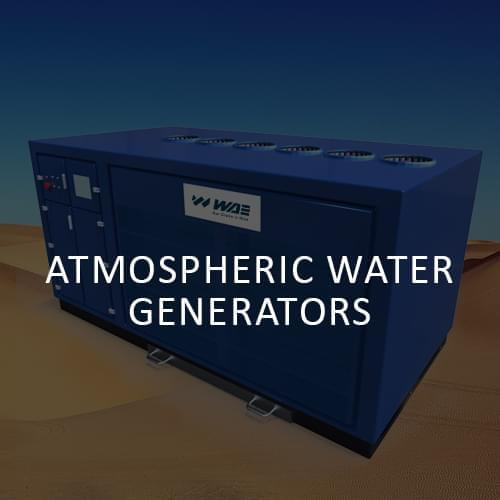WAE | Atomspheric water generators
