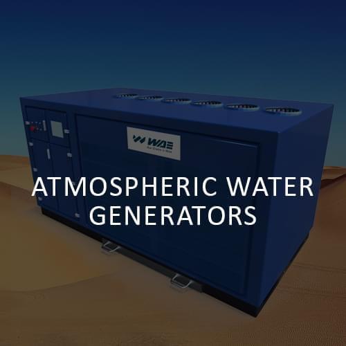 WAE | Atomspheric water generators