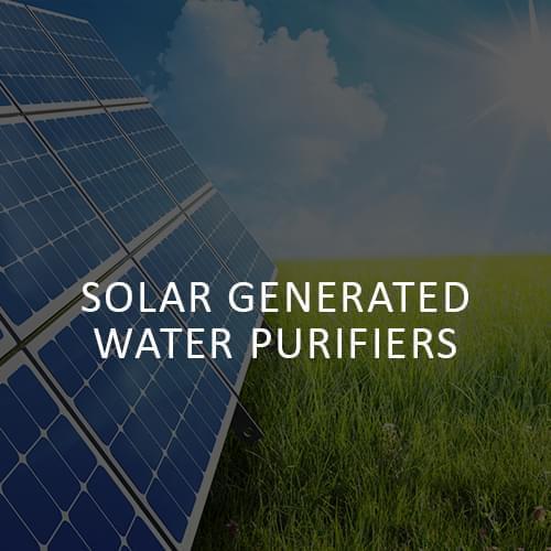 WAE | Solar generated water Purifiers
