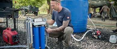 WAE EMERGENCY WATER PURIFICATION SYSTEM